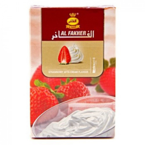 купить Табак Al Fakher - Strawberry with Cream 50г оптом
